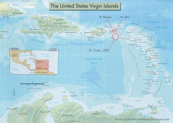 Maps Update 991567 St Croix Map Caribbean St Croix Map US – St Thomas Map Caribbean