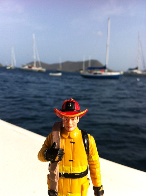 Fireman at Sea photograph by Debbie Sun