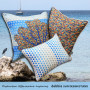 Seafan pillow collection by Debbie Sun
