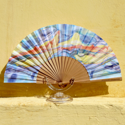 Elemental Flow Hand Fan