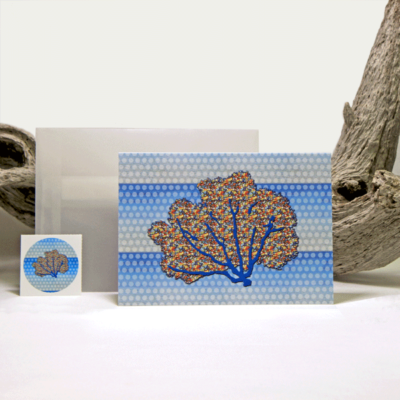 Sea Fan Note Cards (8)