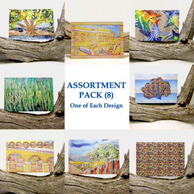 Assortment Pack Note Cards (8)